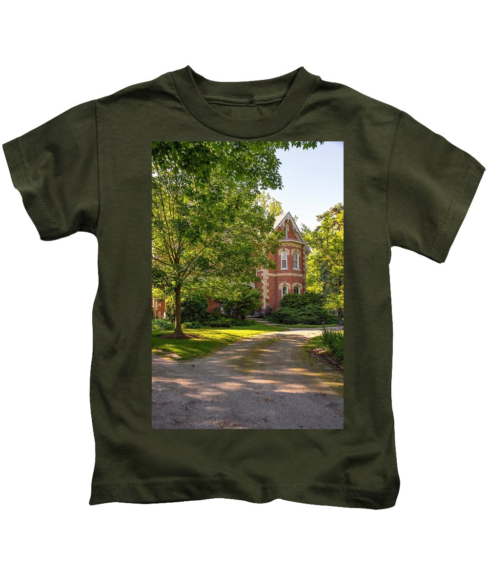 Victorian Kids T-Shirt featuring the photograph Victorian 2 by Steve Harrington