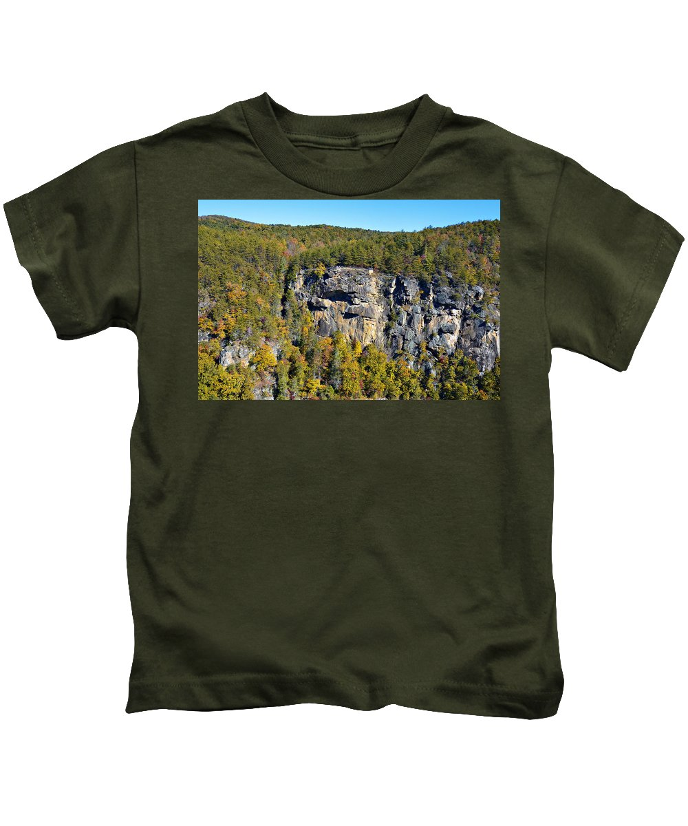 Rock Kids T-Shirt featuring the photograph View From Above by Susan Leggett