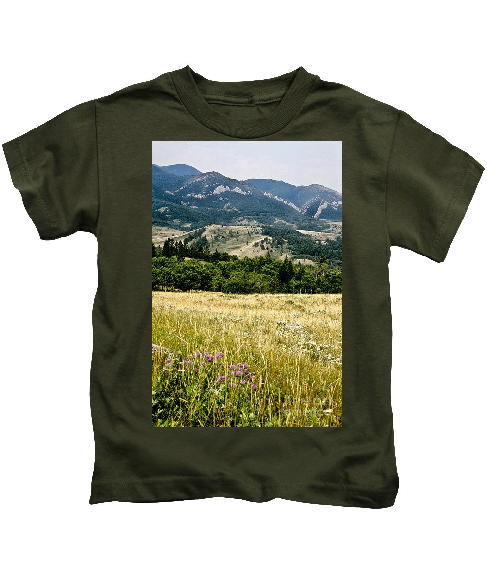 Wilderness Kids T-Shirt featuring the photograph Washake Wilderness by Kathy McClure