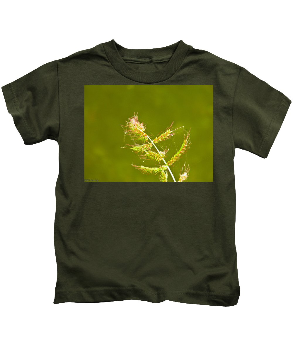 Weed Kids T-Shirt featuring the photograph Weed by Nick Kirby