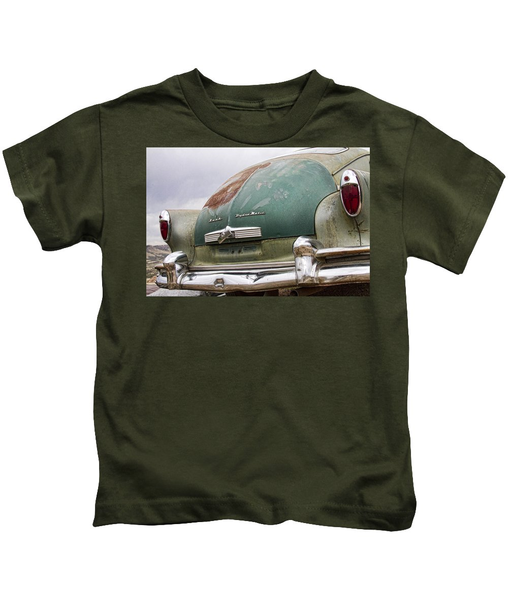 Nash Kids T-Shirt featuring the photograph 1950 Nash Hydra-matic by James BO Insogna