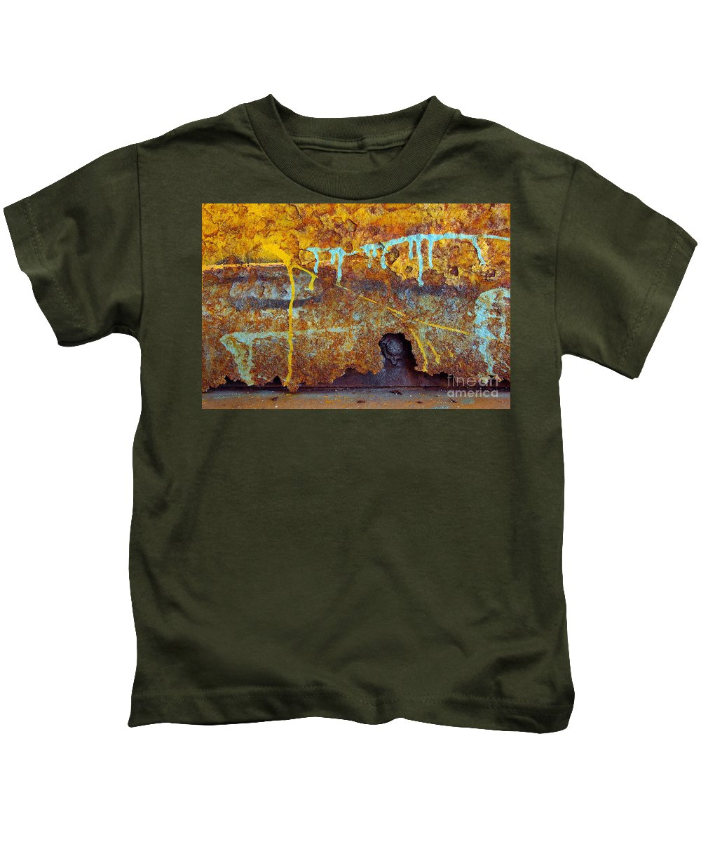 Abandoned Kids T-Shirt featuring the photograph Rust Colors by Carlos Caetano