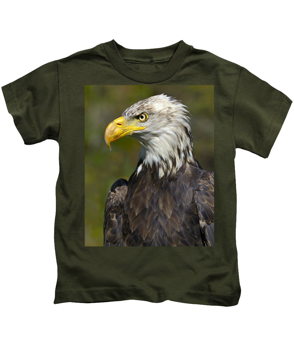 Bald Eagle Kids T-Shirt featuring the photograph Almost There - Bald Eagle by Tony Beck