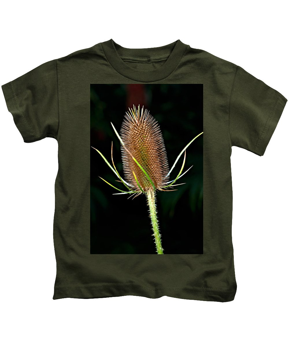 Weed Kids T-Shirt featuring the photograph Anatomy Of A Weed by Steve Harrington