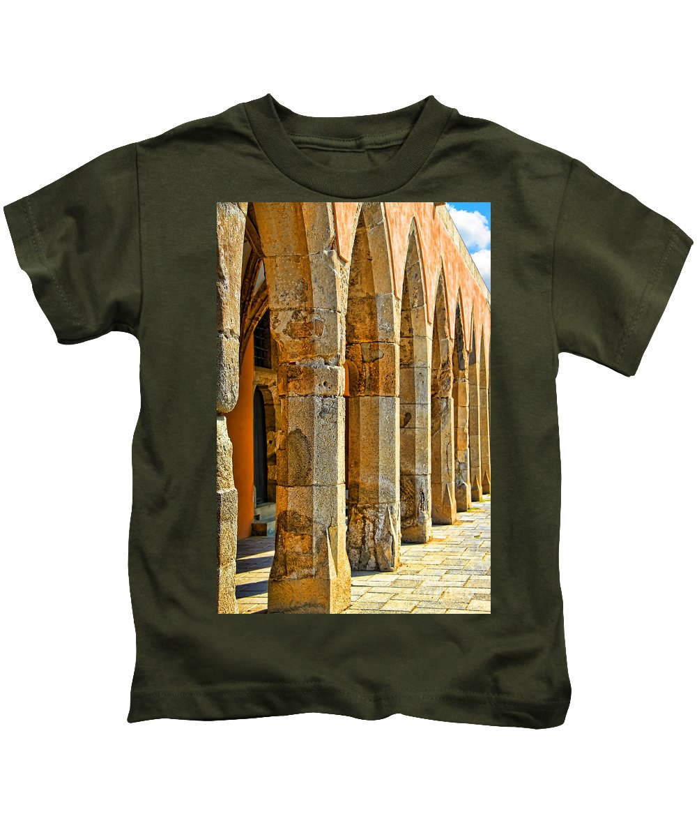 Ancient Thoughts Kids T-Shirt featuring the photograph Ancient Thoughts by Mariola Bitner