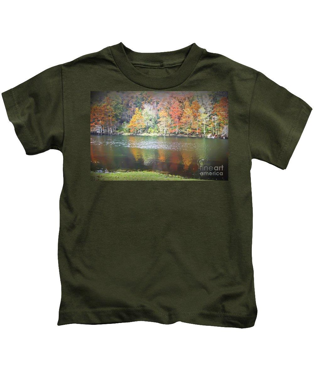 Arkansas Kids T-Shirt featuring the photograph Arkansas Beauty by Kim Henderson