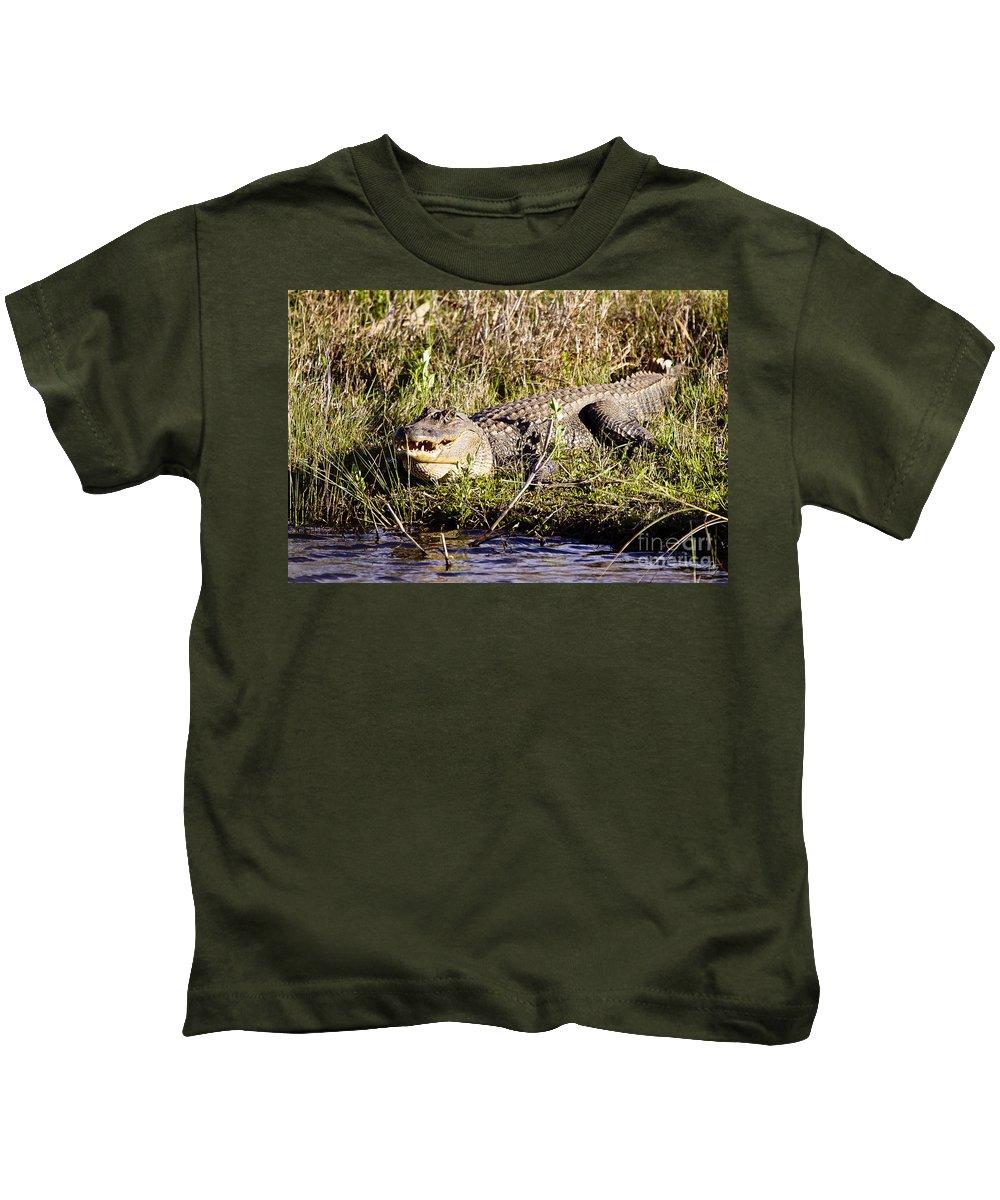 Big Boy Kids T-Shirt featuring the photograph Big Boy by Scott Pellegrin