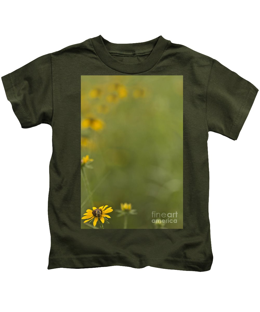 Insect Kids T-Shirt featuring the mixed media Blending In by Kim Henderson