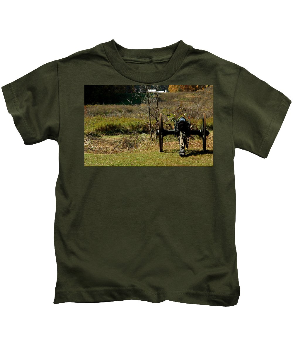 Usa Kids T-Shirt featuring the photograph Canon Fire Color by LeeAnn McLaneGoetz McLaneGoetzStudioLLCcom