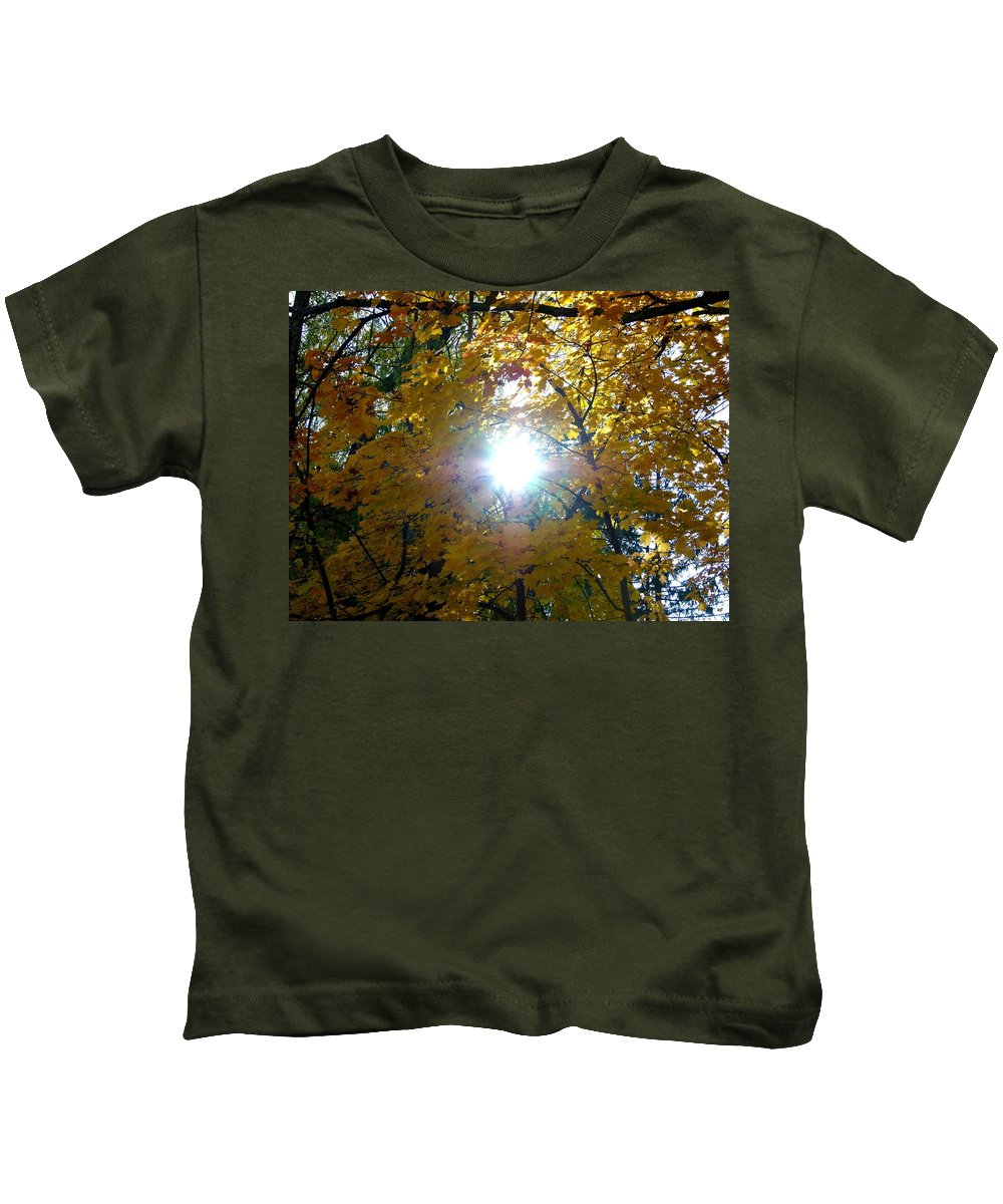 Autumn Kids T-Shirt featuring the photograph Country Color 3 by Will Borden