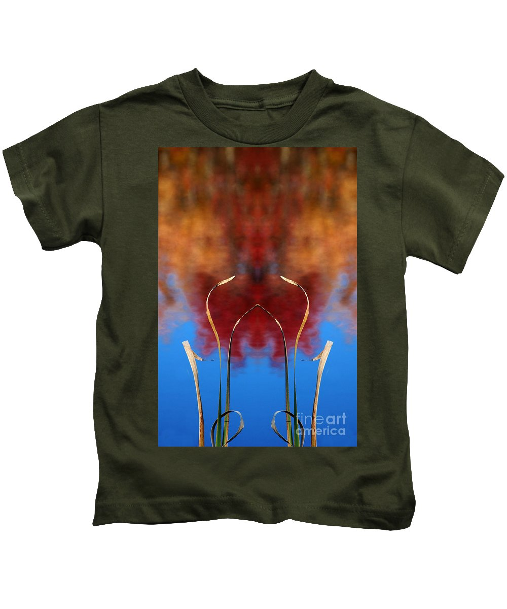 Kids T-Shirt featuring the photograph Creation 11 by Mike Nellums