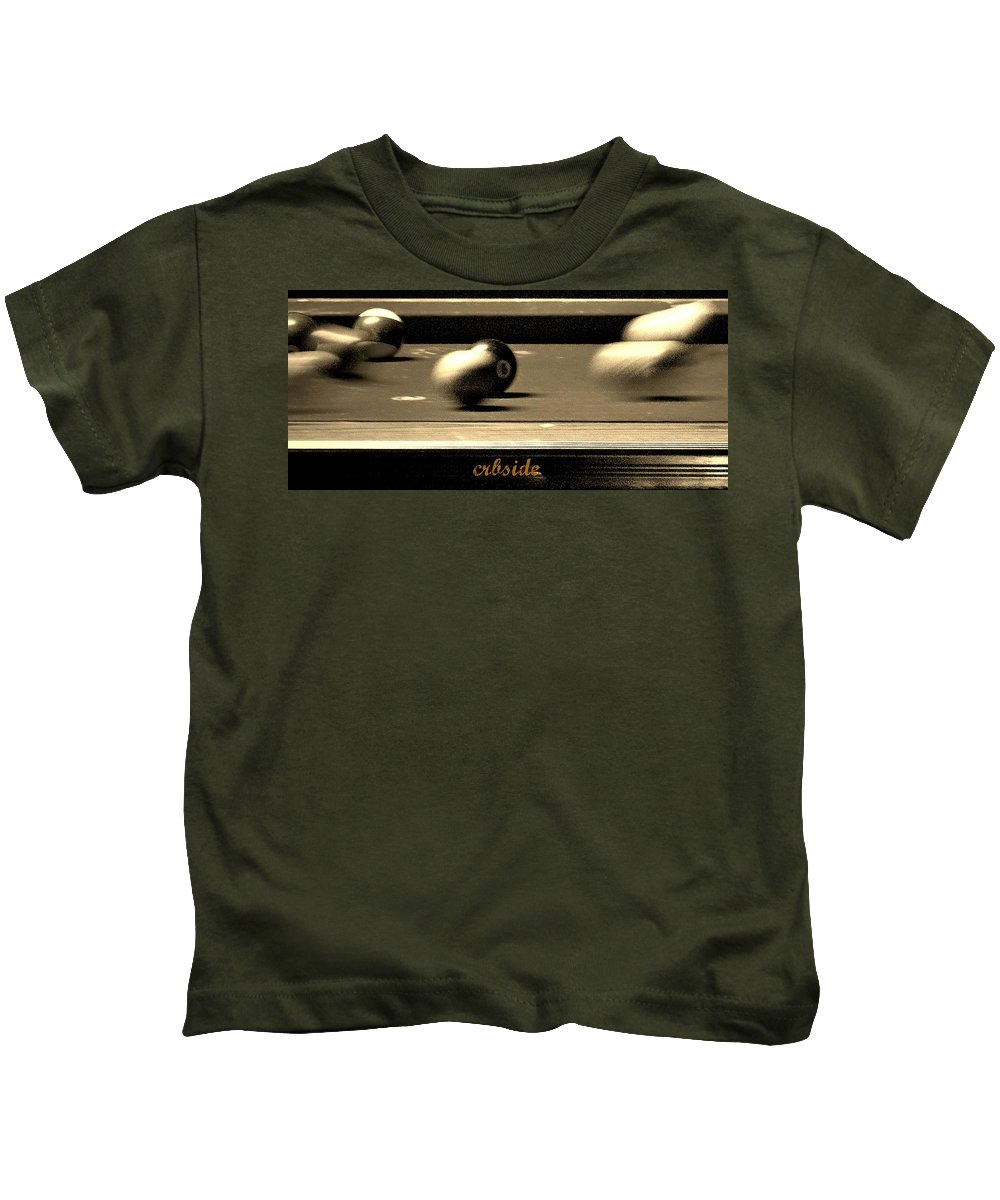 Pool Kids T-Shirt featuring the photograph Eight Ball by Chris Berry