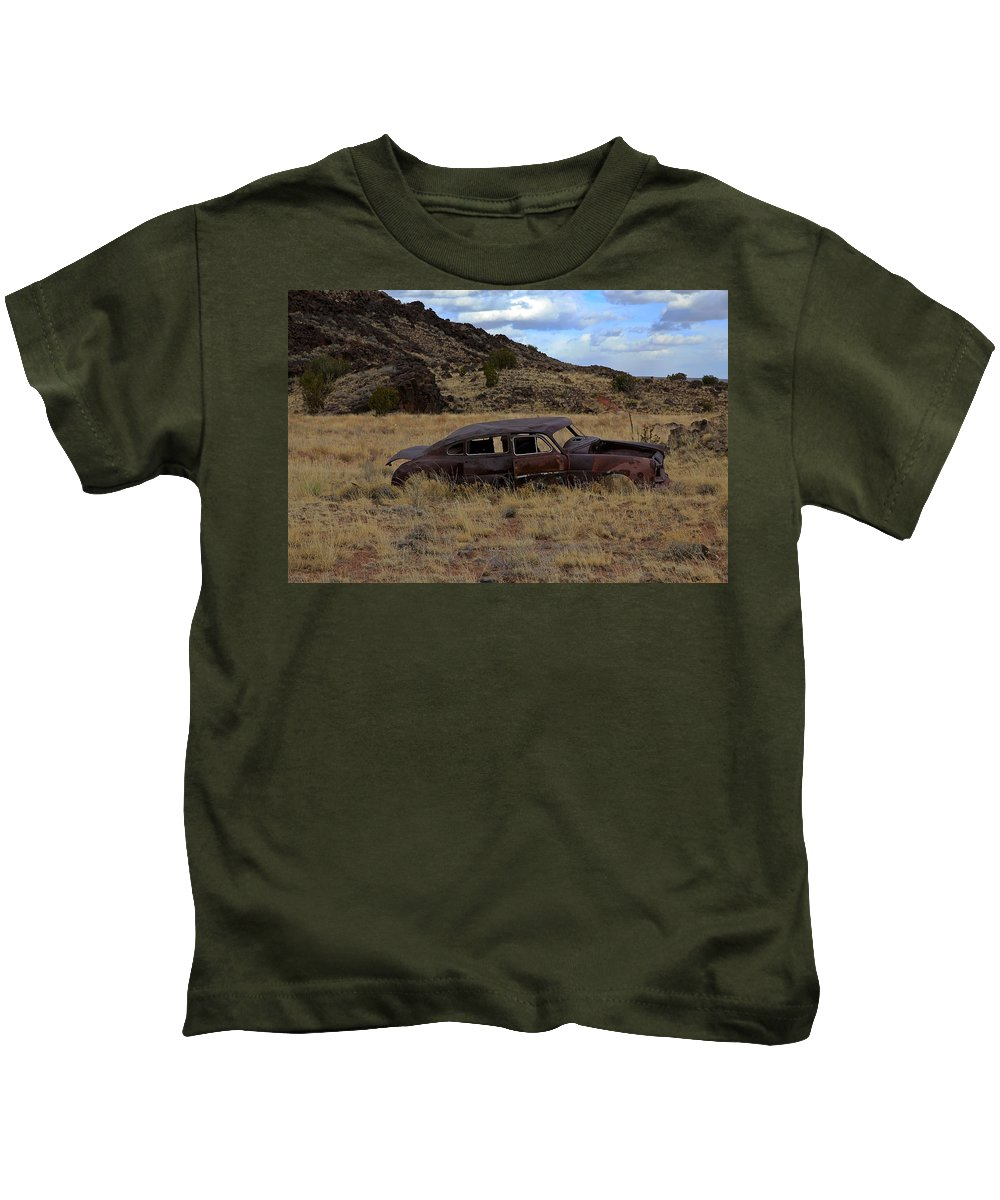 Classic Kids T-Shirt featuring the photograph Forgotten Classic by Steve McKinzie