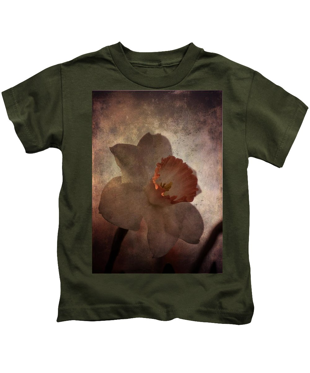 Daffodil Kids T-Shirt featuring the photograph Gift Of God by Trish Tritz