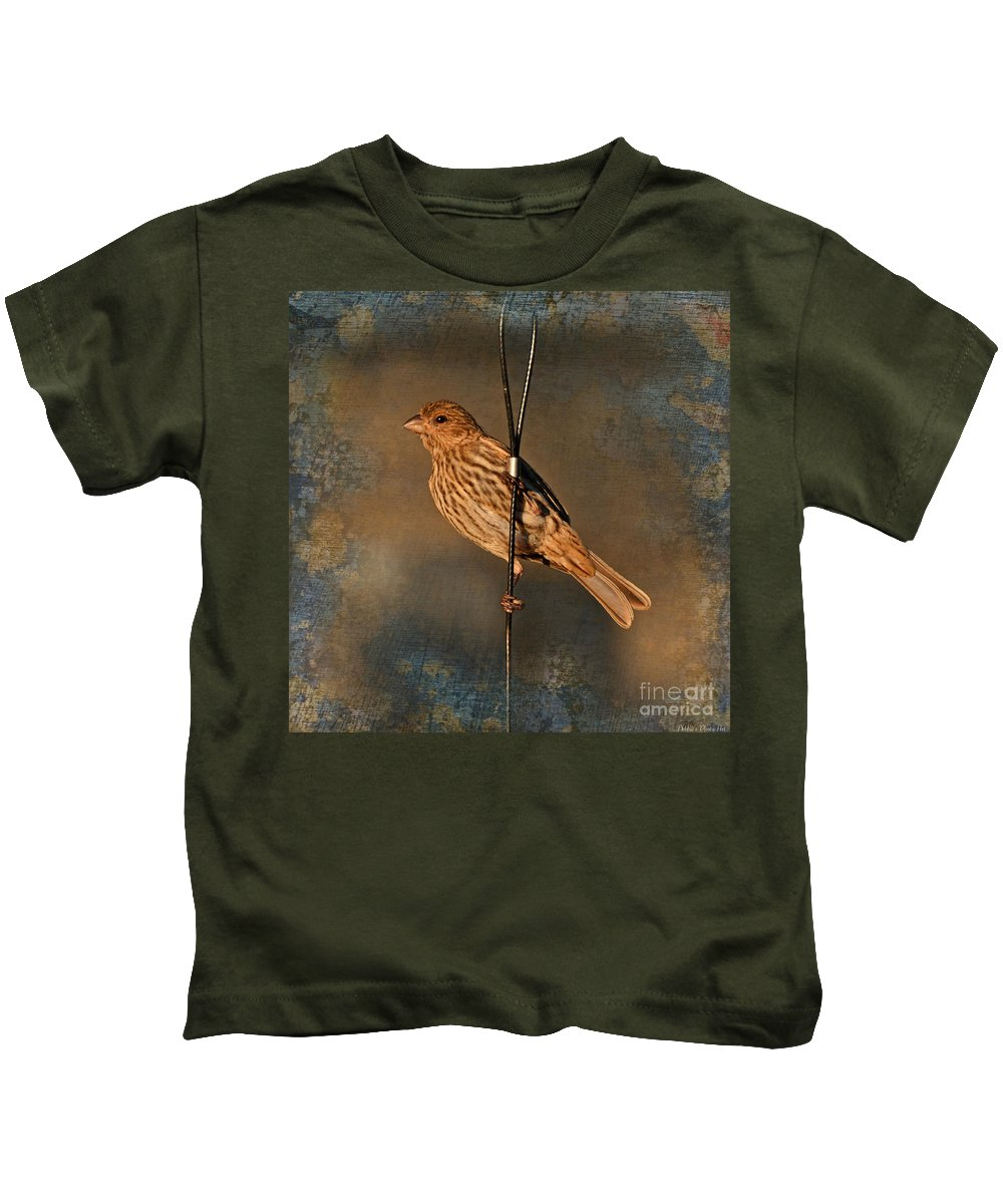 Nature Kids T-Shirt featuring the photograph Good Moning Sunshine Iv by Debbie Portwood