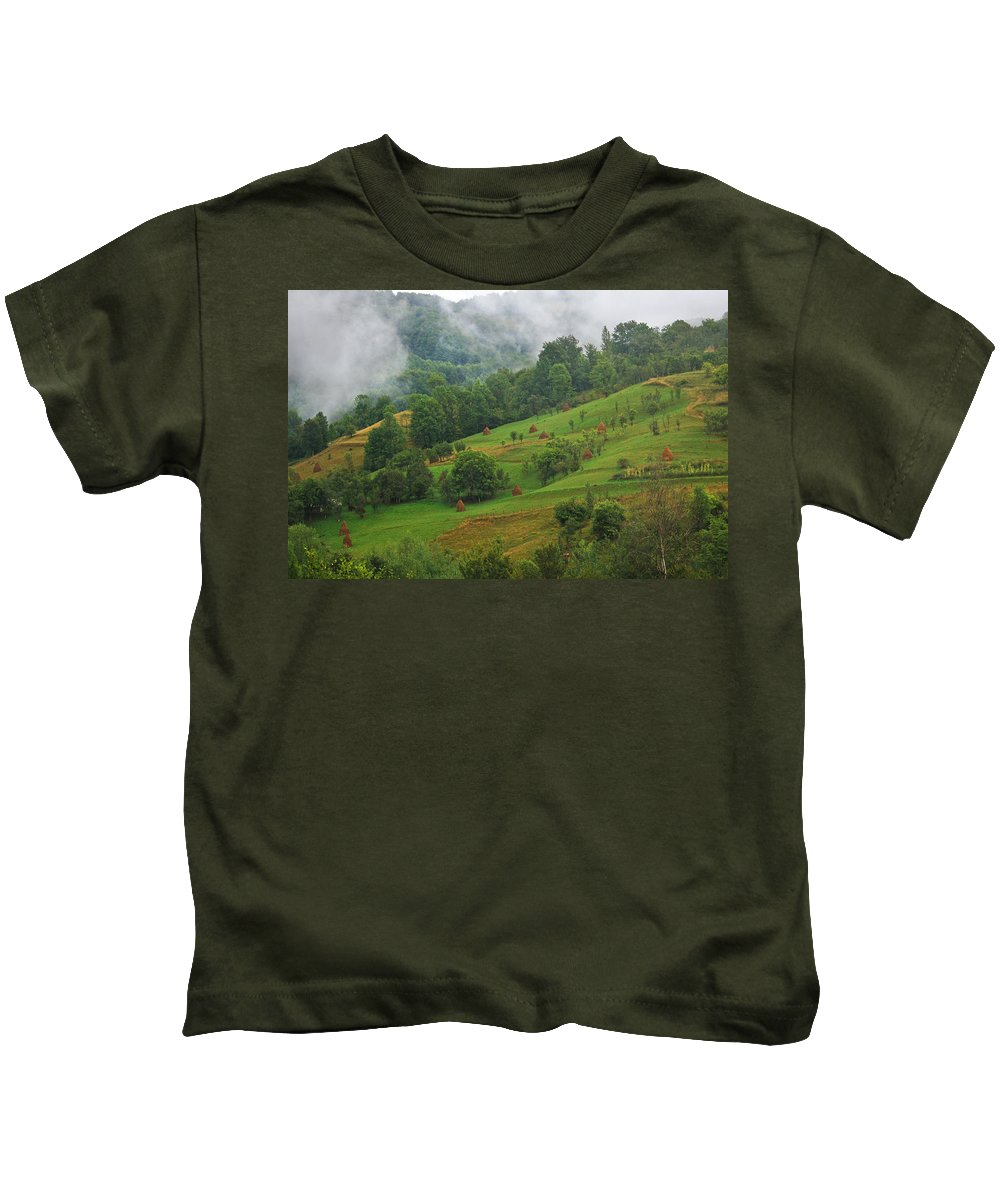 Apuseni Kids T-Shirt featuring the photograph Green by Mircea Costina Photography