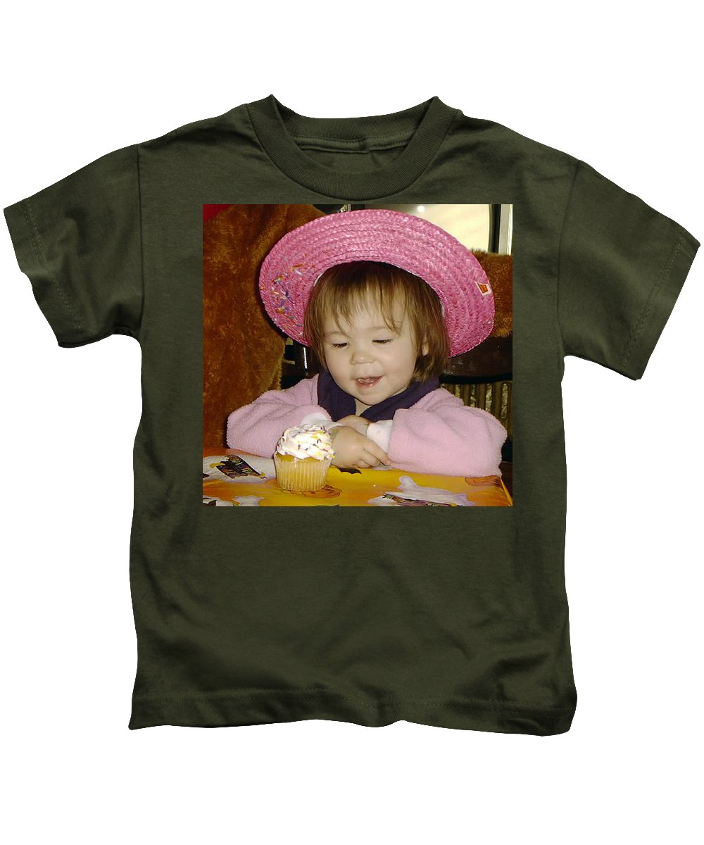 Temptation Kids T-Shirt featuring the photograph Hard To Resist by Paul Ward