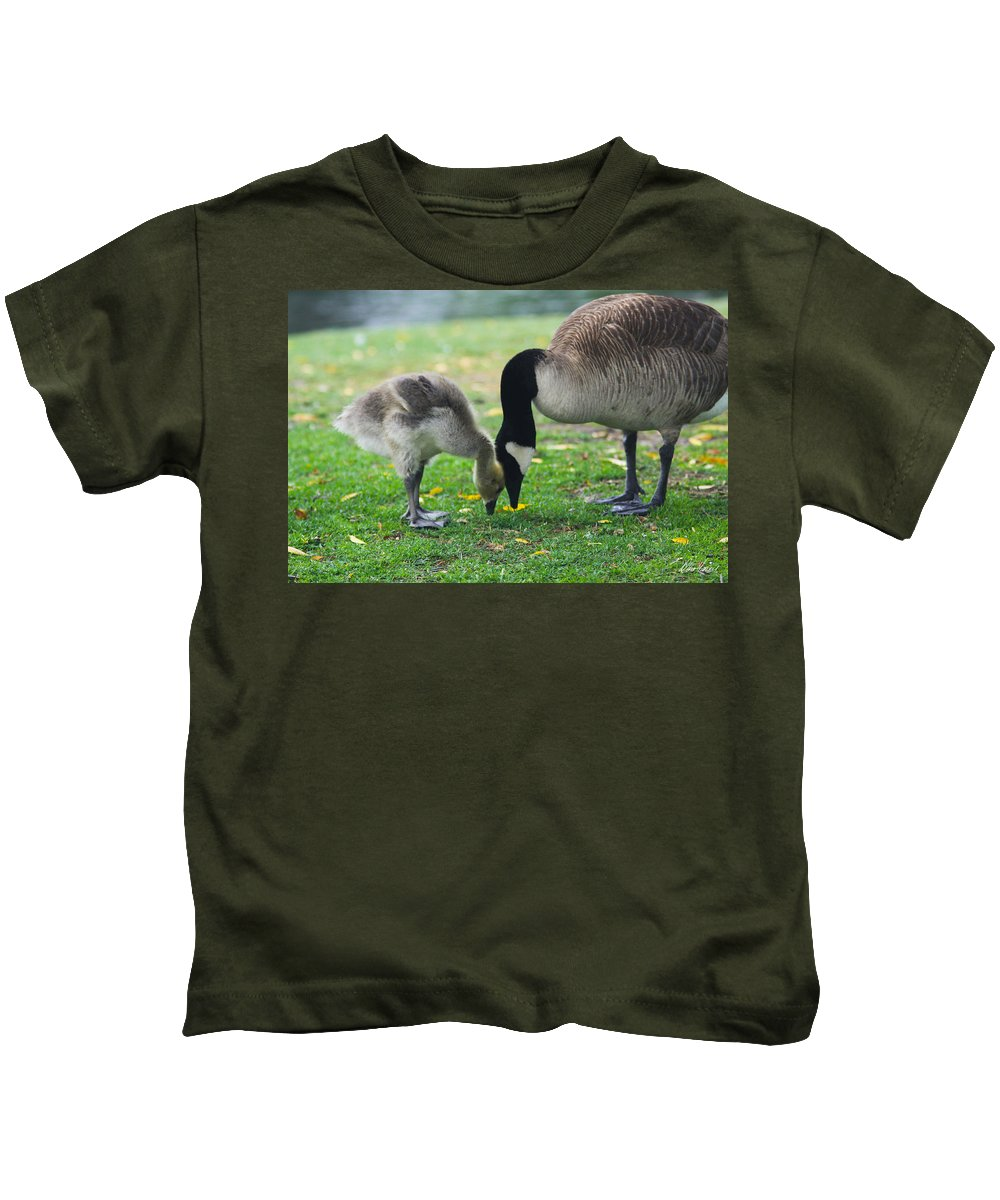 Baby Kids T-Shirt featuring the photograph Head To Head by Diana Haronis