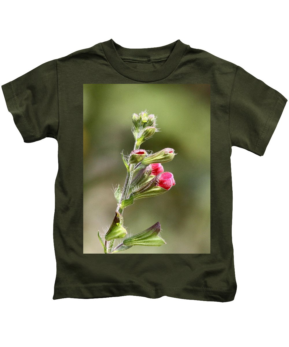 Kids T-Shirt featuring the photograph Hummer Food by Travis Truelove