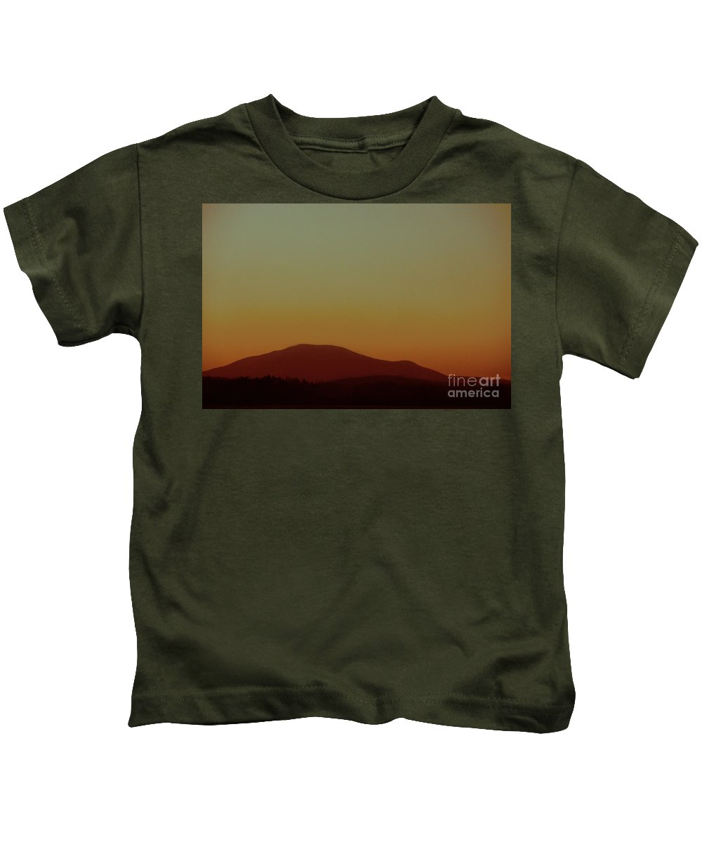 Mountains Kids T-Shirt featuring the photograph I Will Fly by Dana DiPasquale