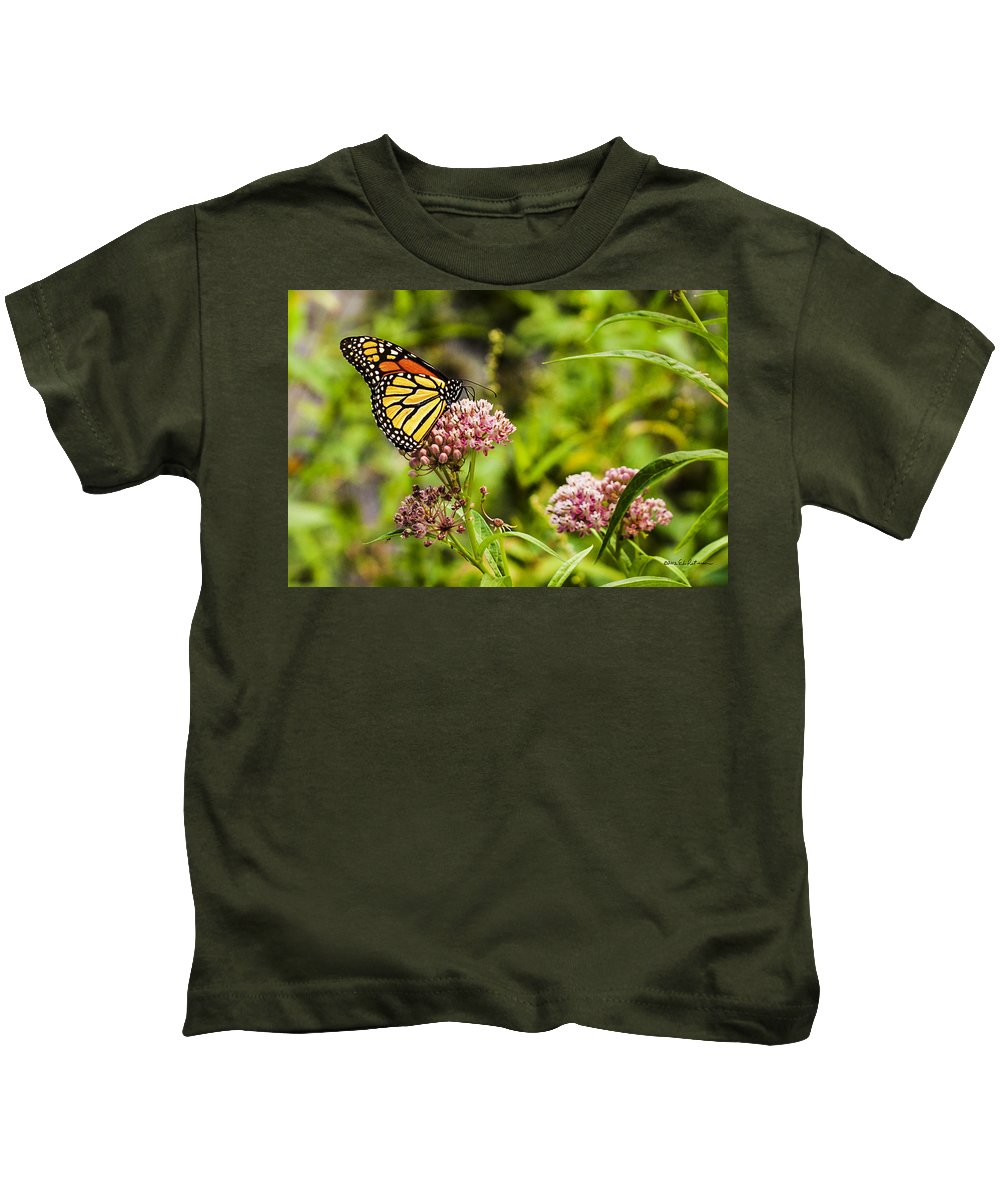 Heron Heaven Kids T-Shirt featuring the photograph Last Days Of Summer by Edward Peterson