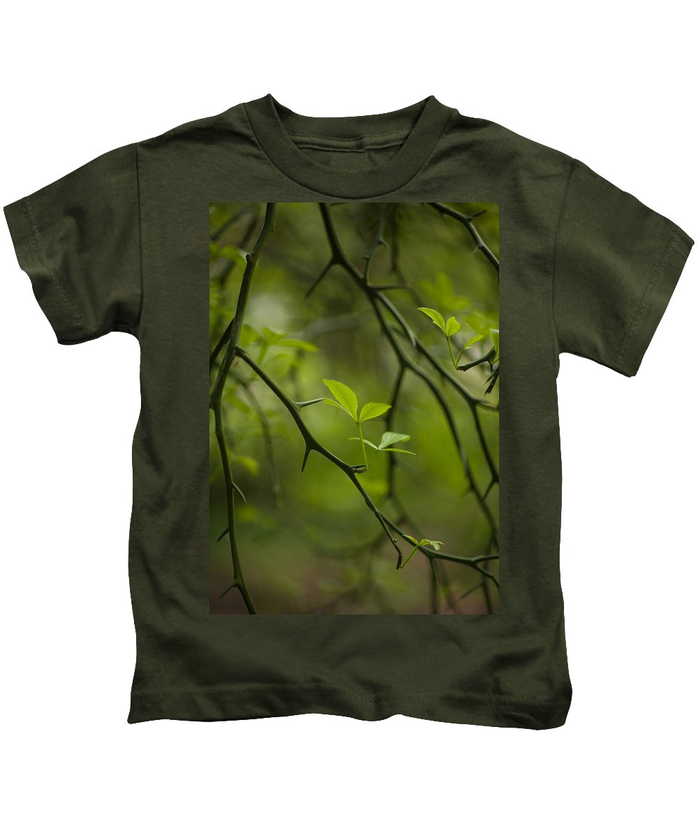 Flower Kids T-Shirt featuring the photograph Life And Thorns by Mike Reid