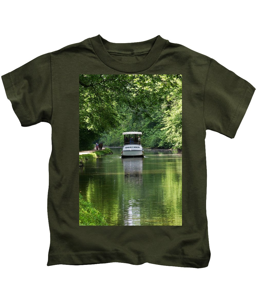 Historic Kids T-Shirt featuring the photograph Mercer Less by Phil Cappiali Jr