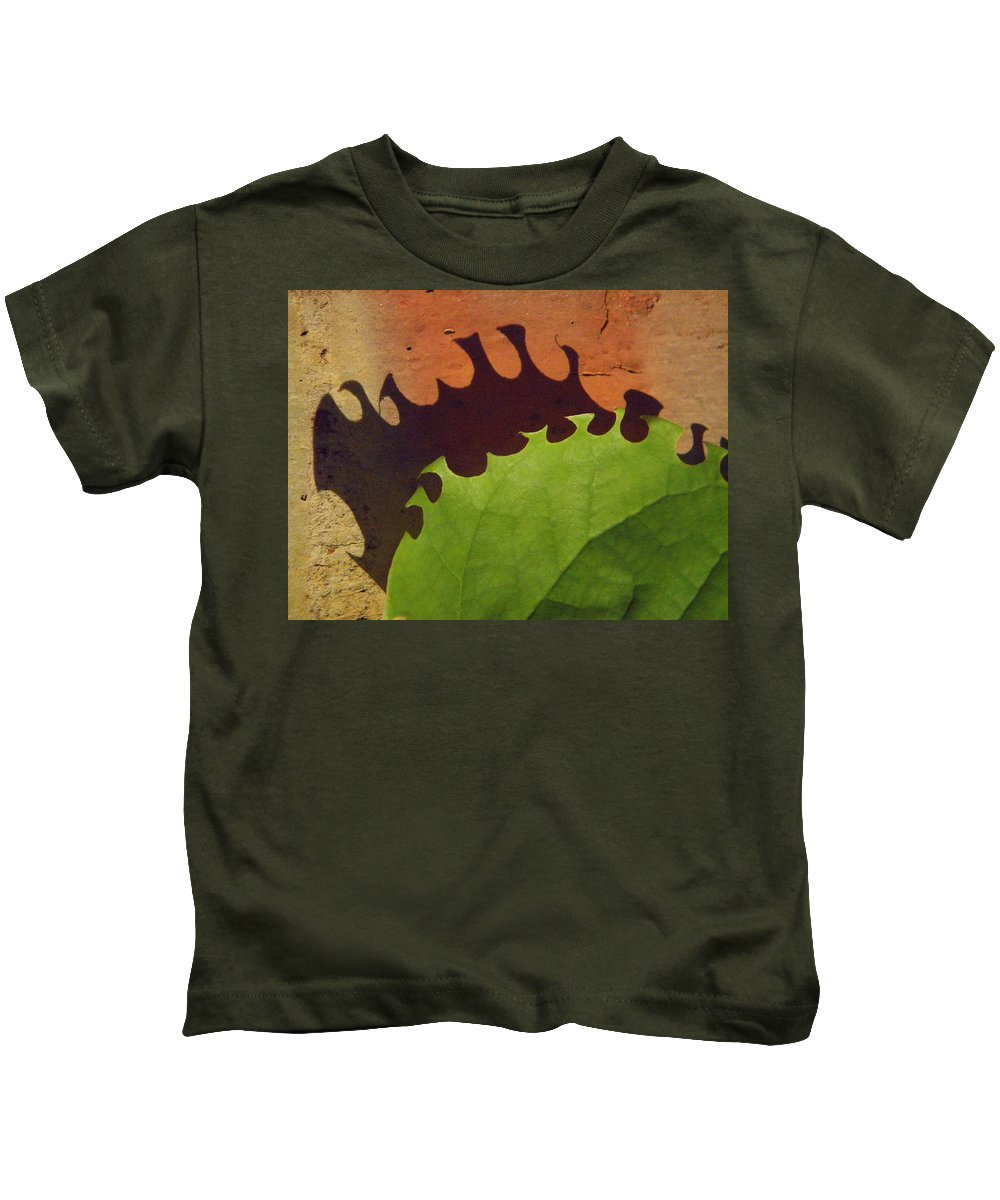 Nature Kids T-Shirt featuring the photograph Munch by Chris Berry