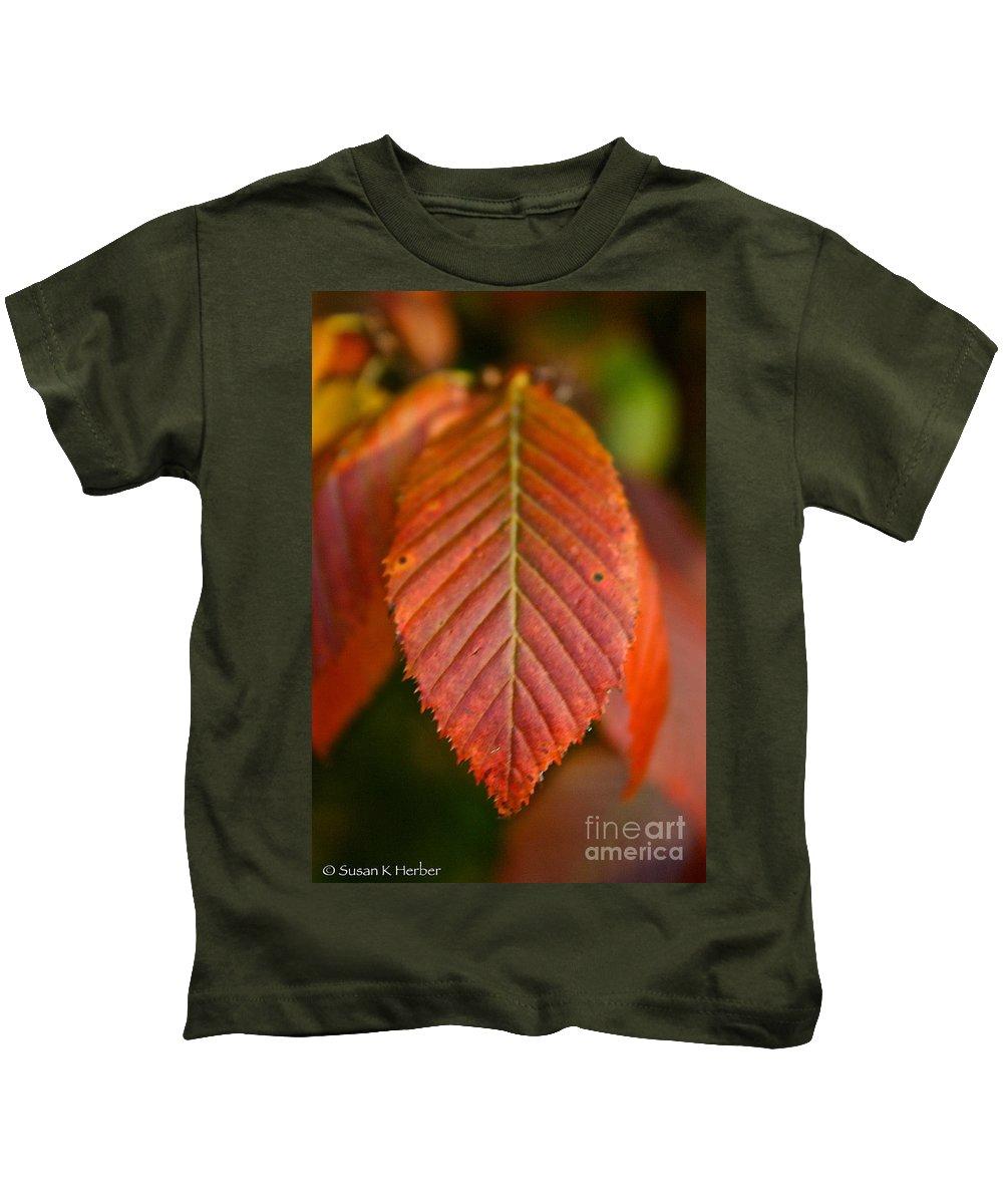 Outdoors Kids T-Shirt featuring the photograph Natural Bronze by Susan Herber