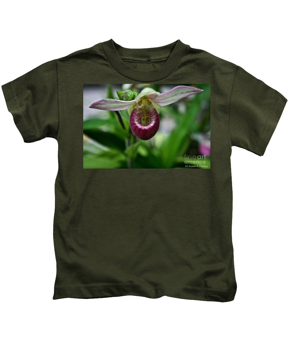 Tropical Plant Kids T-Shirt featuring the photograph Nature's Finest by Susan Herber