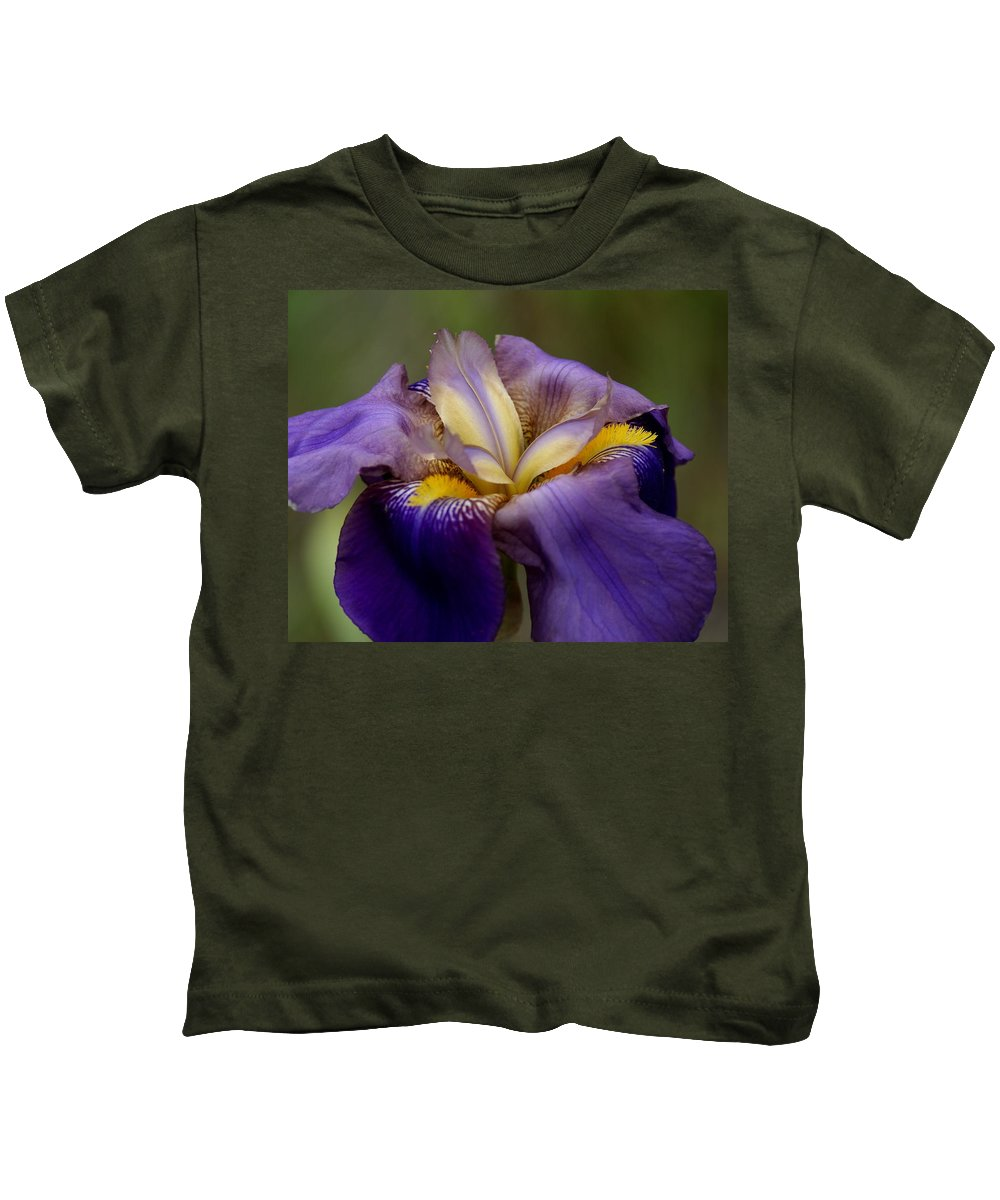 Flowers Kids T-Shirt featuring the photograph Natures Pastels by Ben Upham III