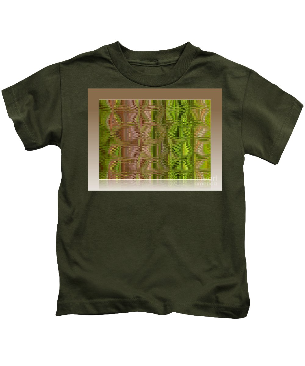 Colors Kids T-Shirt featuring the photograph Oasis In The Desert - Abstract Art by Carol Groenen