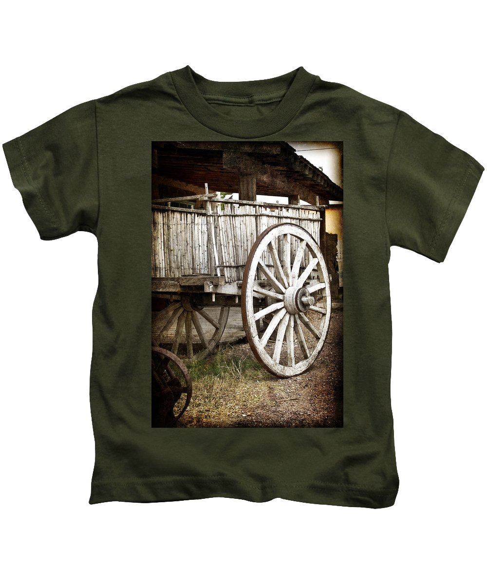 Tombstone Kids T-Shirt featuring the photograph Old West by Jay Hooker