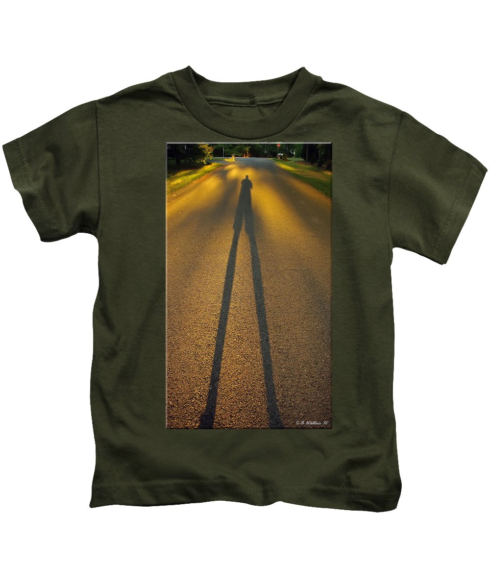 2d Kids T-Shirt featuring the photograph Outcast by Brian Wallace