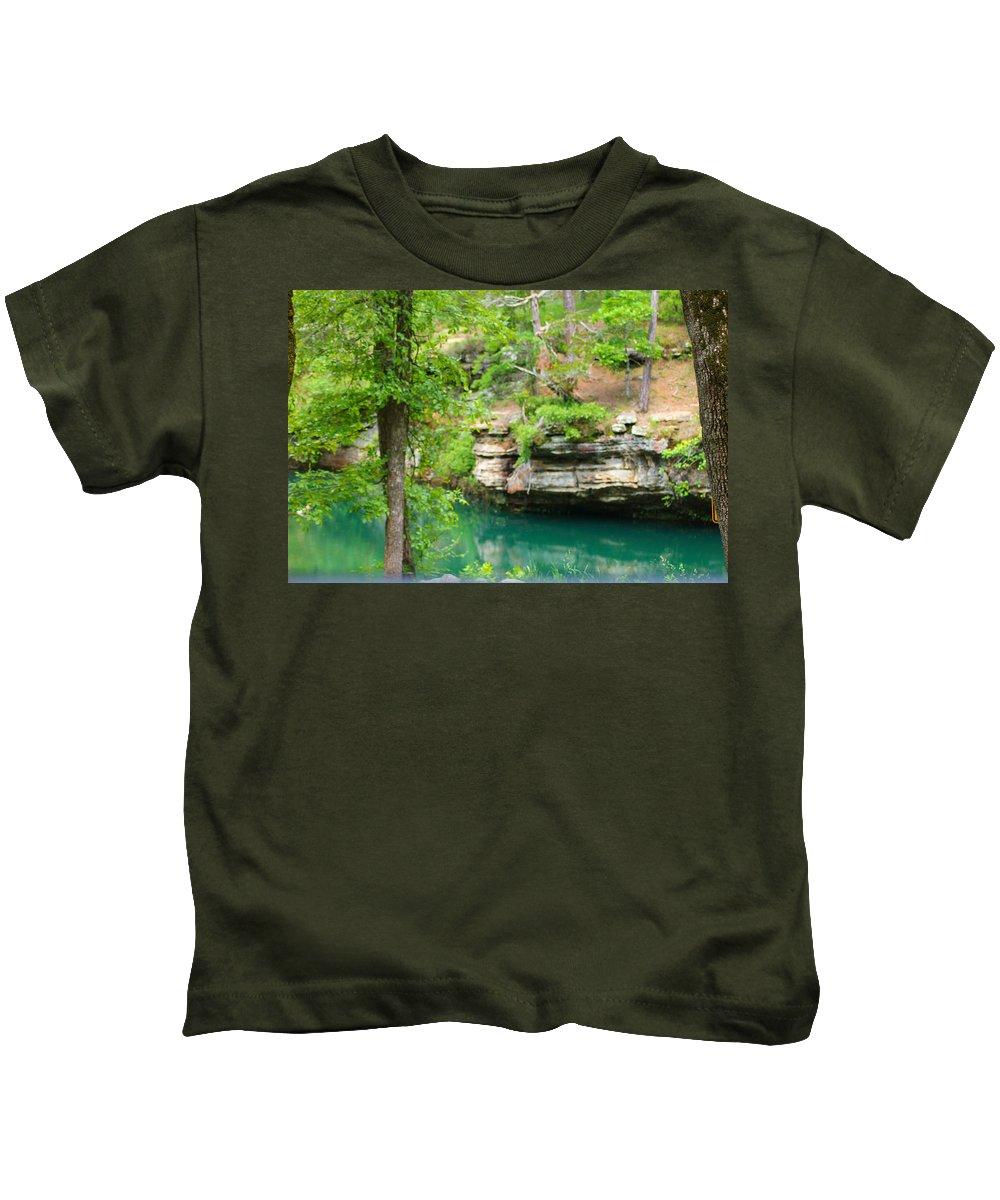 Ozarks Kids T-Shirt featuring the photograph Ozark Heaven by Karen Wagner