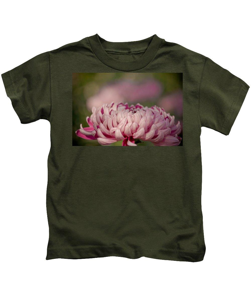 Dahlia Kids T-Shirt featuring the photograph Pinky Swear by Trish Tritz