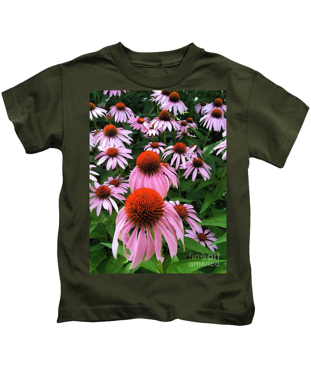Holmesbrook Photographs Kids T-Shirt featuring the photograph Pixie Forest by Trish Hale