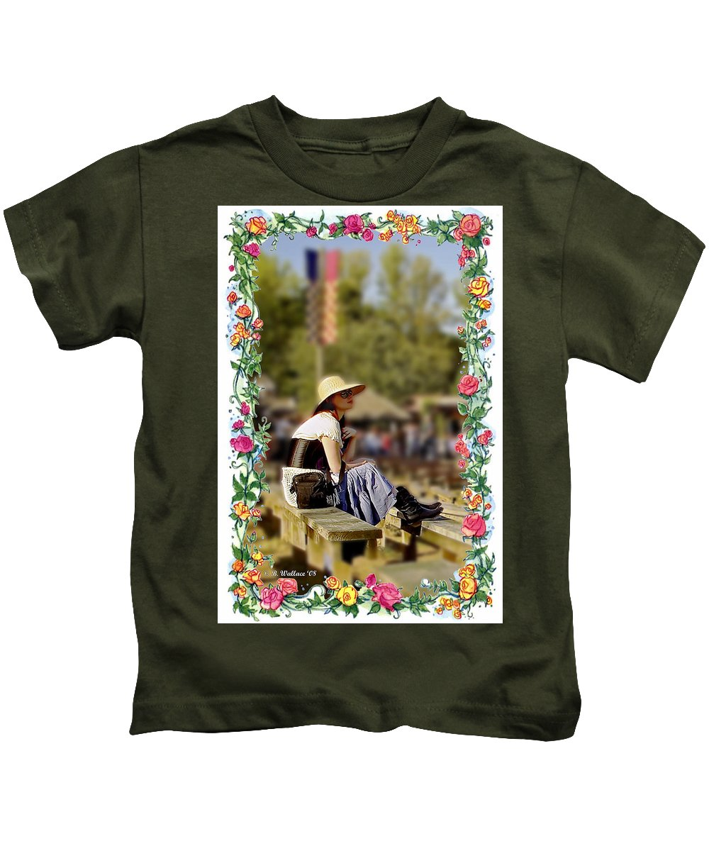 2d Kids T-Shirt featuring the photograph Redheaded Beauty by Brian Wallace