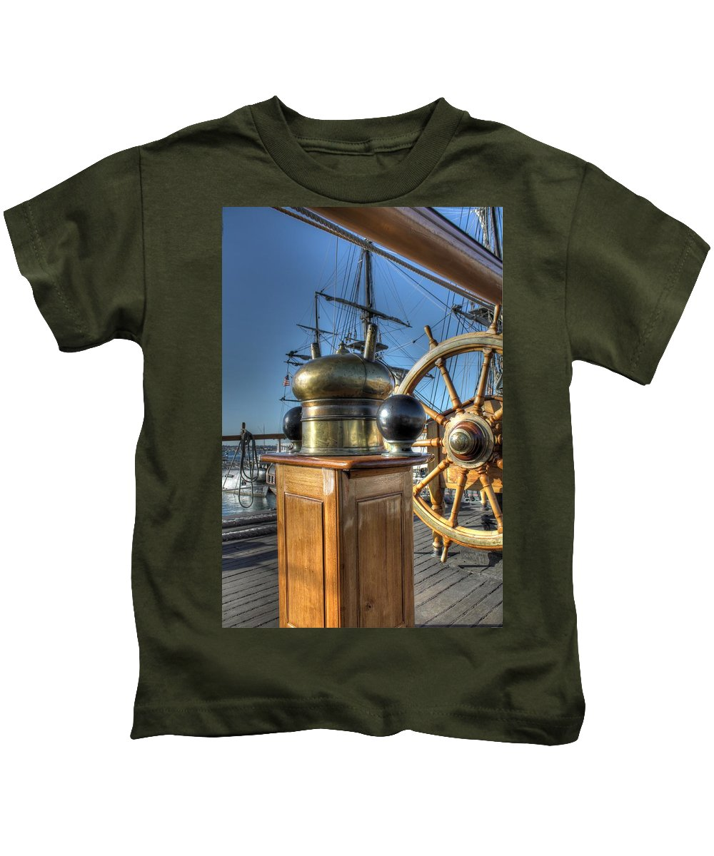 Star Of India Kids T-Shirt featuring the photograph Star Of India by Jane Linders