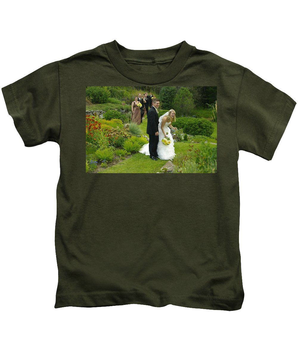 Kids T-Shirt featuring the photograph T And T 22 by John Greaves