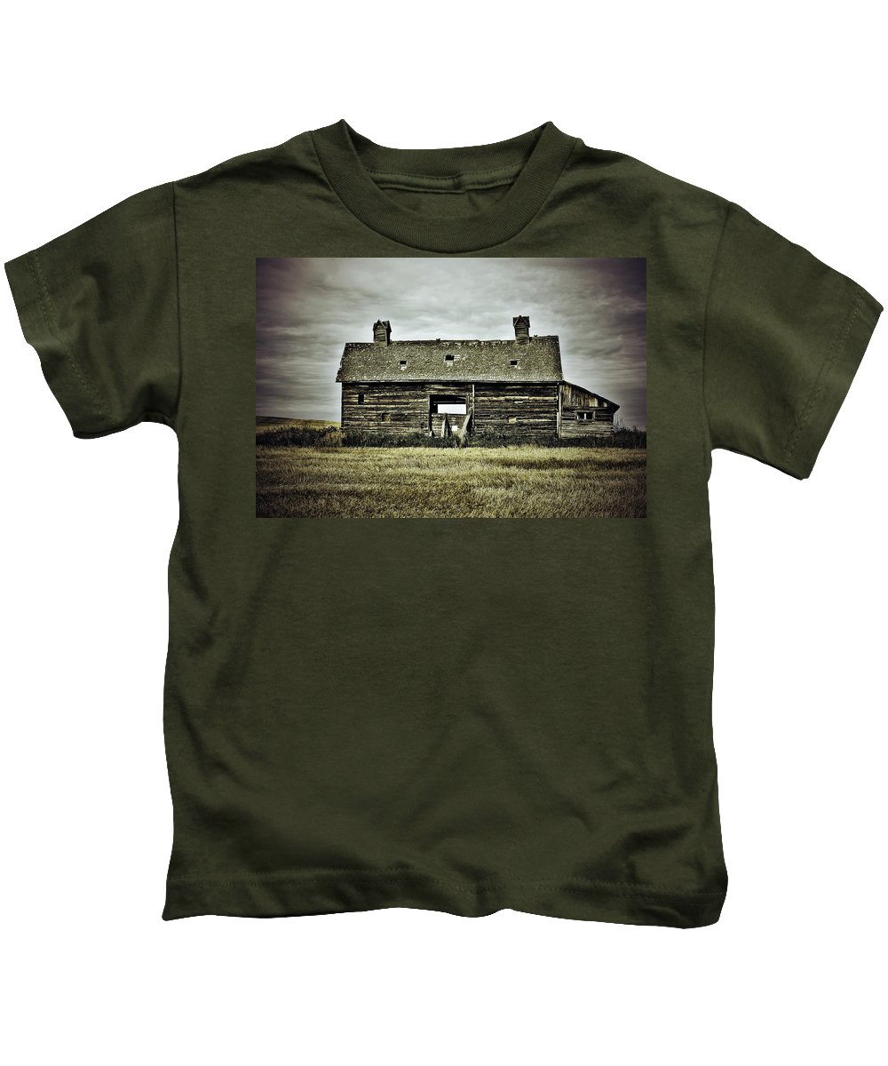 Photographer Kids T-Shirt featuring the photograph The Burns by The Artist Project