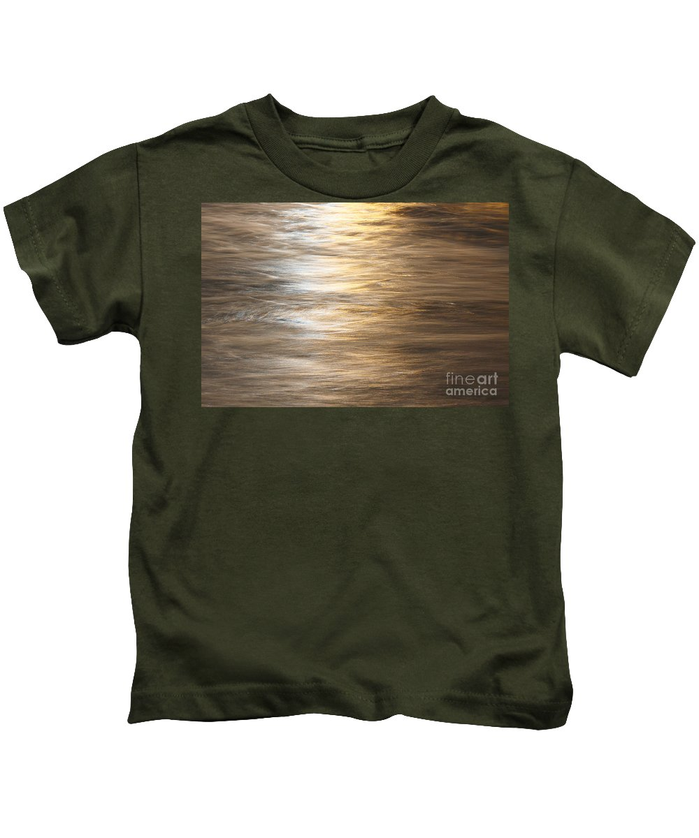 Water Kids T-Shirt featuring the photograph The Flow by Robert Pearson