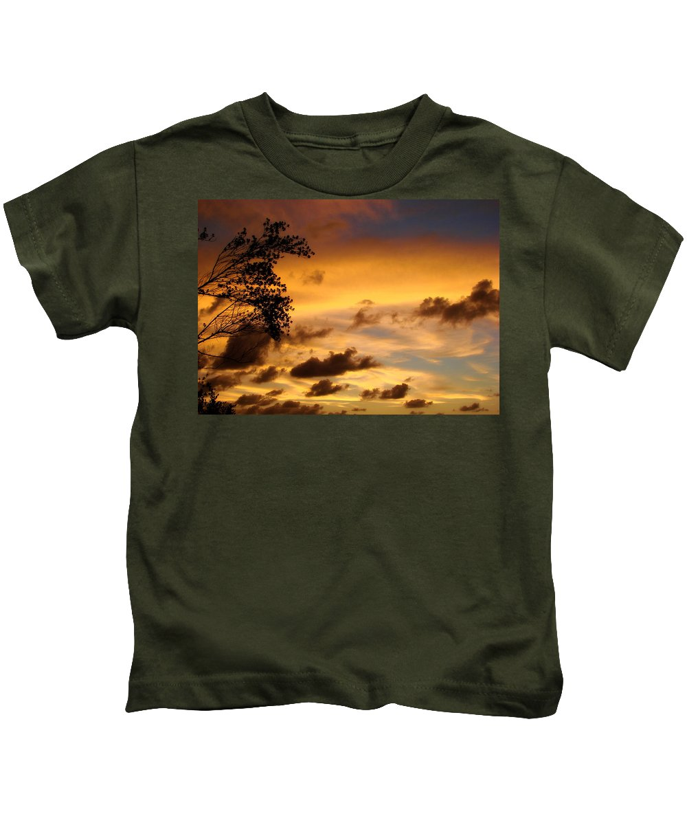 Maldives Kids T-Shirt featuring the photograph The Painting Of The Creator by Jenny Rainbow