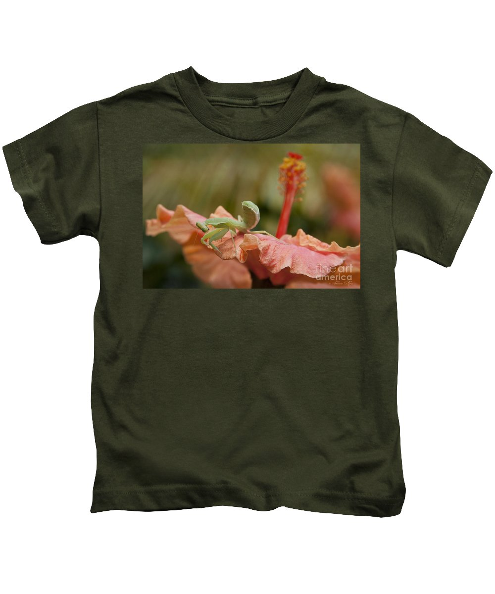 Aloha Kids T-Shirt featuring the photograph The Secret Of Surrender by Sharon Mau