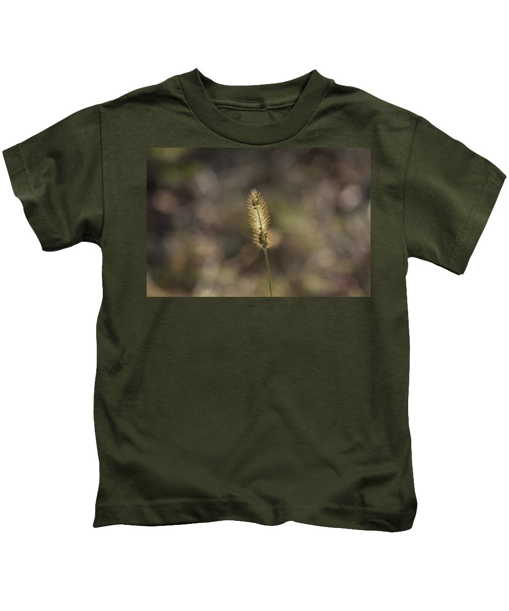 Seeds Kids T-Shirt featuring the photograph The Seeds Of Nature by Douglas Barnard