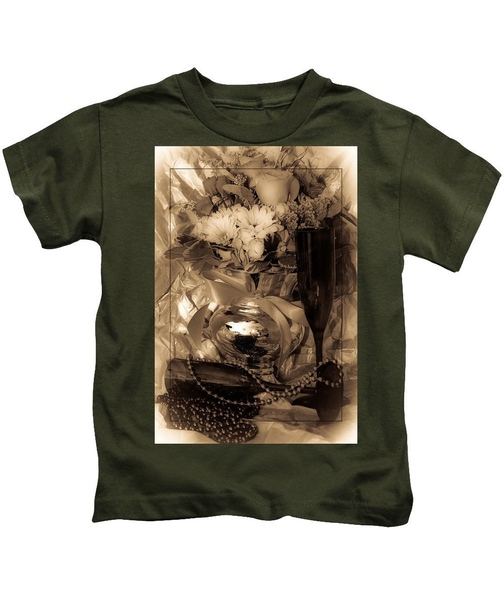 1912 Kids T-Shirt featuring the photograph To 1912 by DigiArt Diaries by Vicky B Fuller