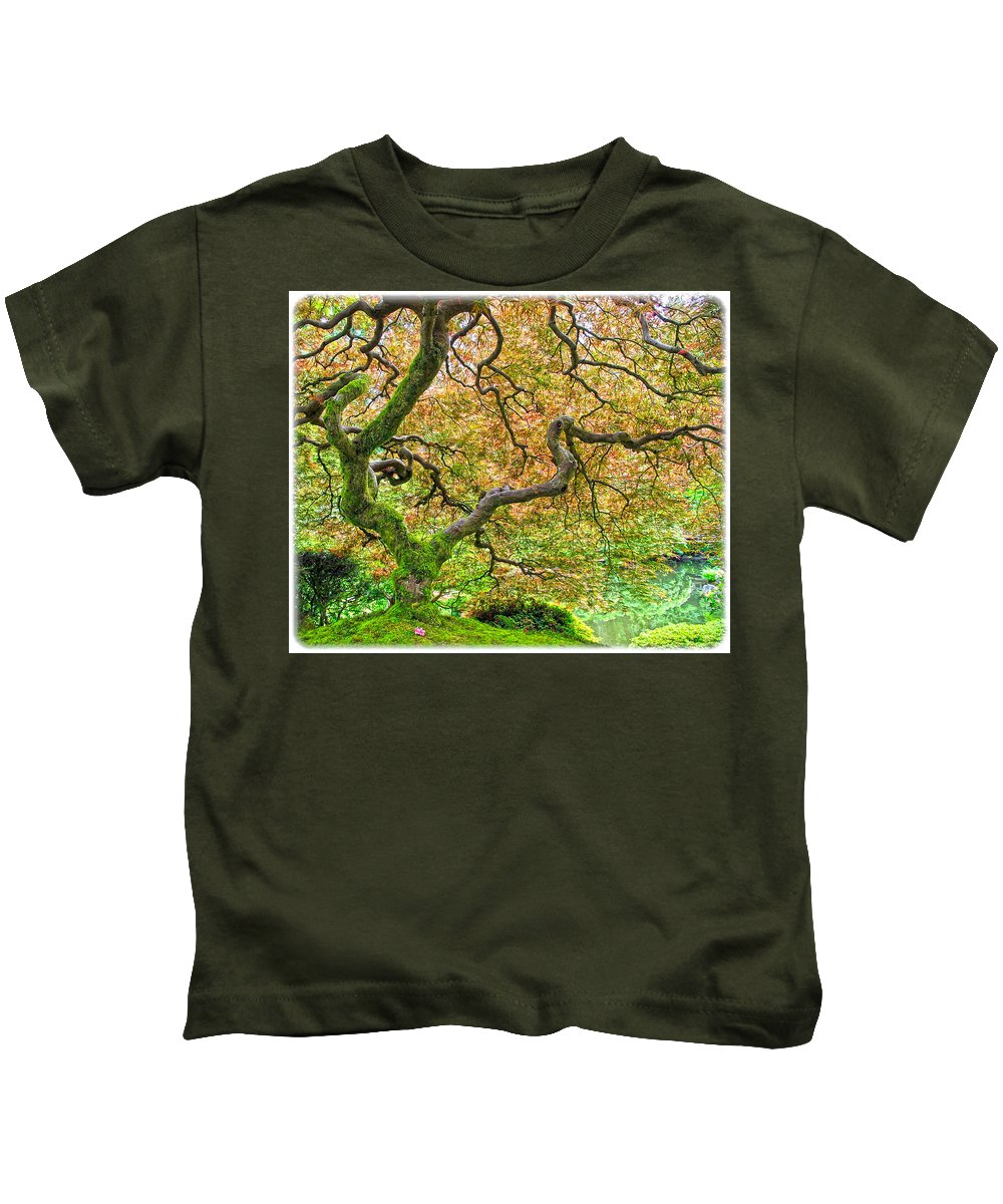 Flowers Kids T-Shirt featuring the photograph Tree Of Beauty by Steve McKinzie
