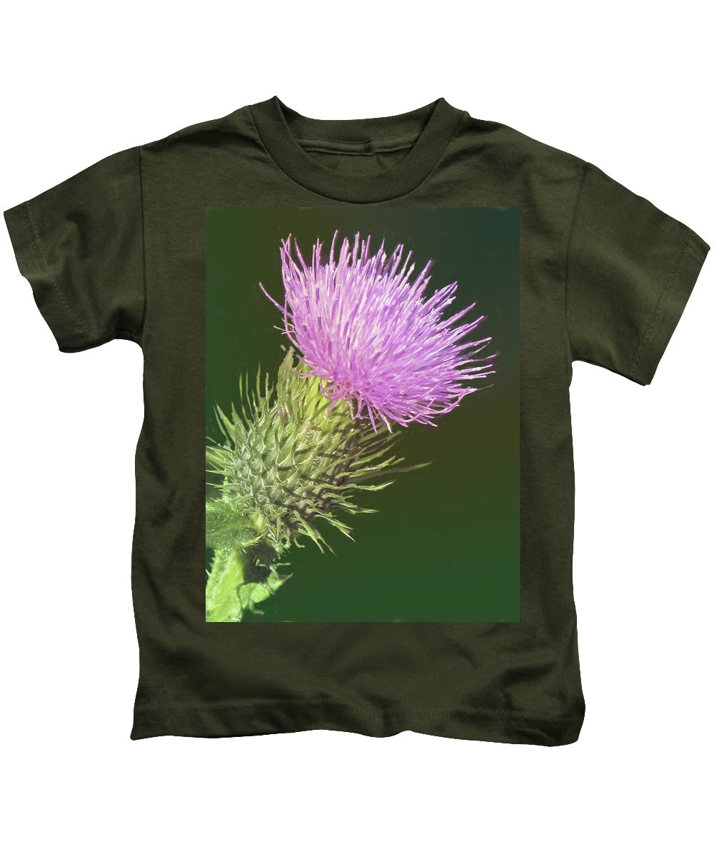 Flower Kids T-Shirt featuring the photograph Uplifting by Ian MacDonald