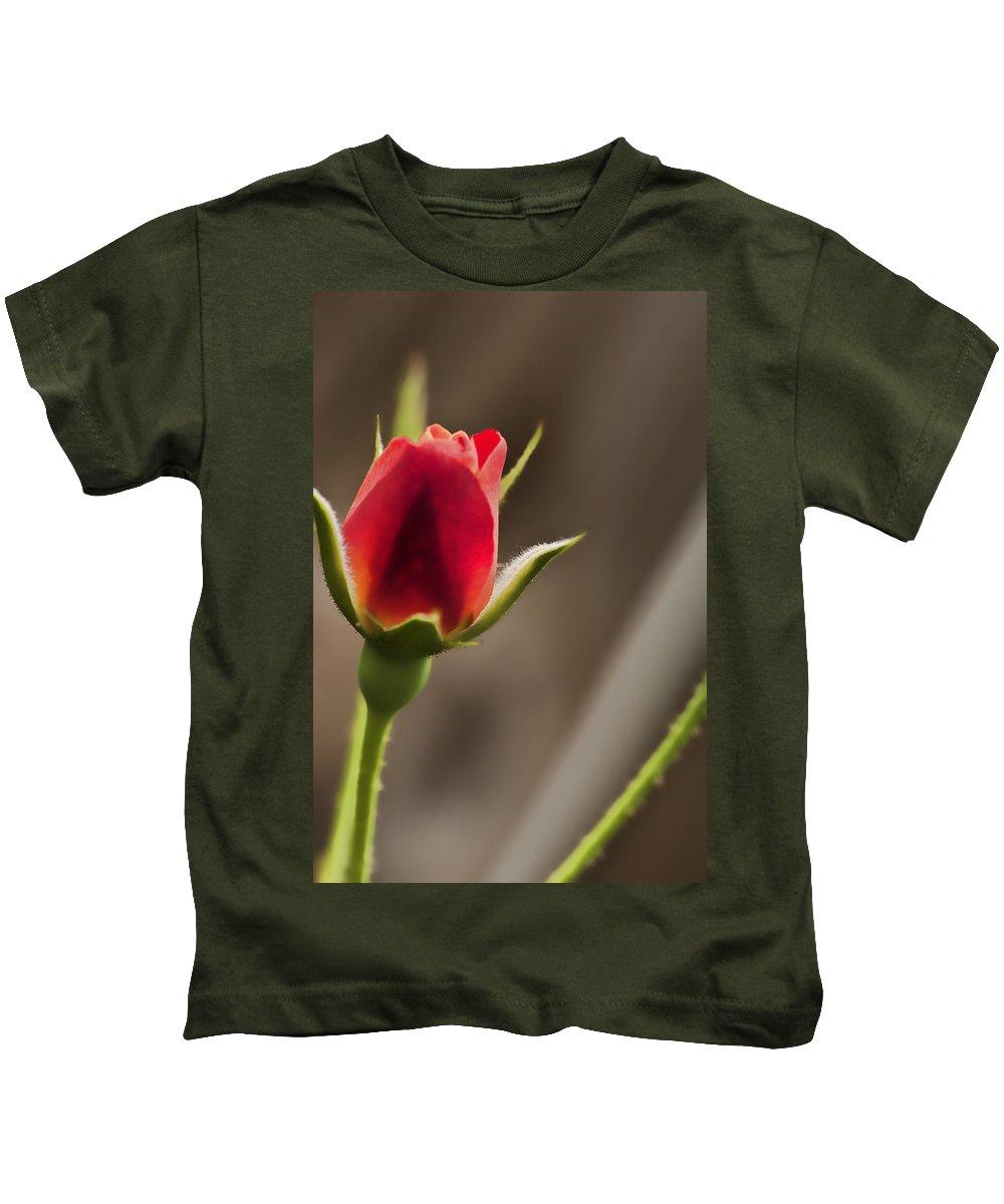 Flower Kids T-Shirt featuring the photograph Vibrance by Sheri Bartoszek