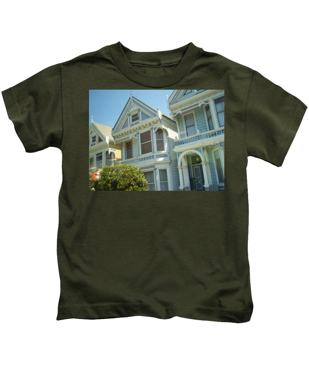 Victorians Kids T-Shirt featuring the photograph Victorians by Pharris Art